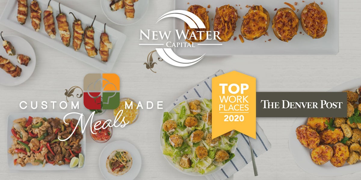 New Water Capital Portco Custom Made Meals Named A Colorado Top Workplace 2nd Year in Row