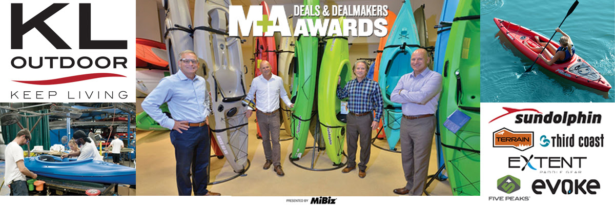 New Water Capital - KL Outdoor Wins MiBIZ M&A Deal of the Year Award